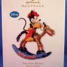 2010 - Hallmark - Keepsake Ornament - Two-Gun Mickey - Mickey Mouse - Ornament
