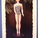 1994 - Hallmark - Keepsake Ornament - Barbie - Debut 1959 - 1st in Series - Ornament