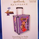 2010 - Hallmark - Keepsake Ornament - Hannah Montana - Traveling In Style - Ornament
