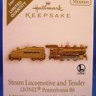 2007 - Hallmark - Steam Locomotive and Tender - LIONEL Pennsylvania B6