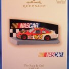 2007 - Hallmark - Keepsake Ornament - NASCAR - The Race Is On - Christmas Ornament