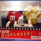 M&M's Brand - At The Movies - In 3-D - Limited Edition - Chocolate Candy Dispenser