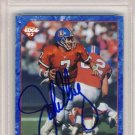 1993 - John Elway - Collector's Edge - First Edition - Prototype 1 - Promo - Signed Card - PSA 10
