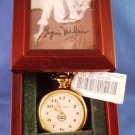 1997 - Fossil Watches - Golf - Byron Nelson - Signed - Limited Edition - Gold Pocket Watch
