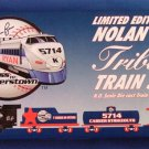 1998 - Nolan Ryan - Tribute - Express To Cooperstown - H.O. Scale Die-Cast Train Set
