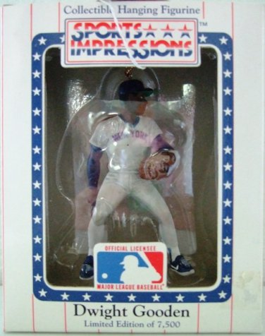 1991 - Sports Impressions - Dwight Gooden - Collectible Hanging Figurine