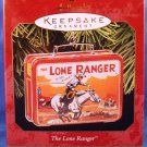 1997 - Hallmark - Keepsake Ornament - The Lone Ranger - Lunch Box - Christmas Ornament