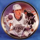 1995 - Bradford Exchange - Wayne Gretzky - The Great Gretzky - Heroes On Ice - Collectors Plate