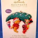 2010 - Hallmark - Keepsake - A Tree For Three - Winnie The Pooh Collection - Christmas Ornament