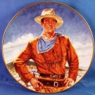 JOHN WAYNE - The Duke - 24 kt Gold Trim - 8 INCH - Fine Porcelian - Collector Plate