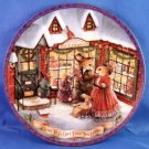1993 - Love Is A Gift From The Heart - By Susan Wheeler Christmas - Collector Plate