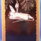 1995 - Hallmark - Keepsake Ornament - Space Shuttle - Stringer Light - Christmas Ornament