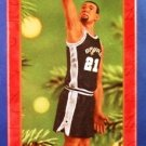 2001 - Hallmark - Keepsake Ornament - San Antonio Spurs - Tim Duncan - Hoop Stars - Ornament
