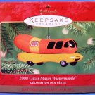 2000 - Hallmark - Keepsake - Oscar Mayer Wienermobile - Christmas Ornament