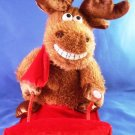 2011 - Sled Riding - Motion Reindeer - Plays Song - Grandma Got Run Over By A Reindeer
