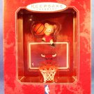 1998 - Hallmark - Keepsake Ornament - NBA Collection - Chicago Bulls - Basketball Ornament