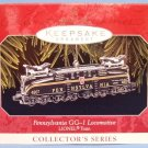 1998 - Hallmark - Keepsake Ornament - Pennsylvania GG-1 Locomotive - Christmas Ornament