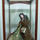 Franklin Mint - Heirloom Doll - Scarlett O'Hara - Green Drapery Dress Doll