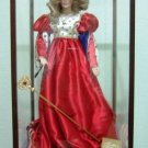 FRANKLIN MINT - HEIRLOOM DOLLS - THE QUEEN OF HEARTS