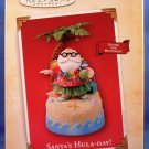 2004 - Hallmark - Keepsake Ornament - Santa's Hula-Day - Christmas Ornament