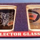 1999 - San Antonio Spurs - NBA Champions - Collector's Glass Jigger - Set of 4