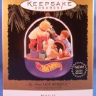 1995 - Hallmark - Keepsake Ornament - Hot Wheels - My First Hot Wheels - Christmas Ornament