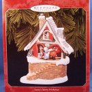 1998 - Hallmark - Keepsake Ornament - Santa's Merry Workshop - Christmas Ornament