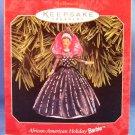 1998 - Hallmark - Keepsake - Barbie - African American - Holiday Barbie - 1st in Series - Ornament