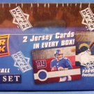 2008 - Upper Deck - NFL - 1st Edition - Factory Sealed Set - 2 Jersey Cards