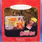 1999 - Hallmark - Keepsake Ornament - Scooby-Doo - Lunch Box Set - Christmas Ornament