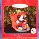 1999 - Hallmark - Keepsake Ornament - Piano Player Mickey - Mickey Mouse & Co - Ornament