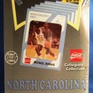 1989 - Collegiate - North Carolina - First Edition - Trading Cards Box / Michael Jordan