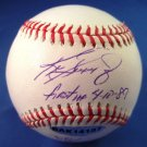 Ken Griffey Jr. - UDA - Autographed - Baseball - with First HR, 04/10/1989 Inscription