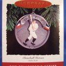 1994 - Hallmark - Keepsake Ornament - Baseball Heroes - Babe Ruth - Ornament
