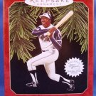 1997 - Hallmark - Keepsake Ornament -Hank Aaron - At The Ballpark - Christmas Ornament