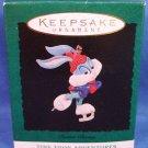 1994 - Hallmark - Keepsake Ornament -Tiny Toon Adventures - Buster Bunny -  Miniature Ornament