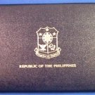 1980 - REPUBLIC OF THE PHILIPPINES - PROOF - 7 COIN SET IN CASE - FRANKLIN MINT