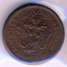1915 - TWENTY 20 CENTS - AGUASCALIENTES - KML05 - SCARCE, EXCELLENT CONDITION