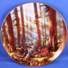 "1993 - The Danbury Mint - Sunlit Retreat - God Bless America - 8"" Collector Plate"