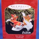 1997 - Hallmark - Disney - Keepsake Ornament - Cinderella - Gus and Jaq - Christmas Ornament
