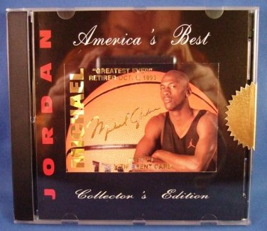 1993 - Michael Jordan - American's Best - Collector's Edition - Factory Sealed - 10 Card Set