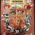49er's - Hall Of Famers - Autographed - Photo - 12 Signatures - Joe Montana, Jerry Rice, Steve Young