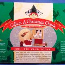 1997 - Hallmark - Keepsake Ornament - Collect A Christmas Classic - Membership Kit - Set Of 4