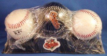 1995 - Cal Ripken Jr. - Burger King - Stat - Photo - Set of 3 - 2131 Commemorative Baseball