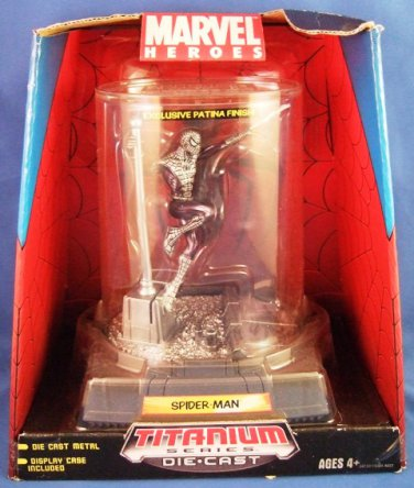 2006 - Marvel Heroes - Titanium Series - Die Cast - Spider Man