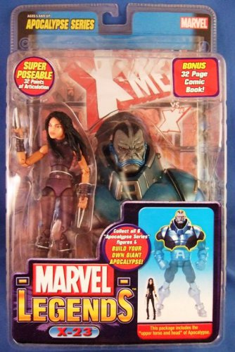 2005 - Toy Biz - Marvel Comics - Legends - Apocalypse Series - X-23