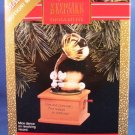 1990 - Hallmark - Keepsake - Song and Dance - Motion and Music - Ornament