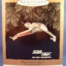 1994 - Hallmark - Keepsake Ornament - Star Trek - The Next Generation - Klingon Bird of Prey