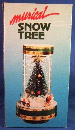 Snow Tree - Musical Box - Christmas Display