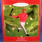 2000 - Hallmark - Keepsake Ornament - Ken Griffey Jr. - At The Ballpark Series - Christmas Ornament